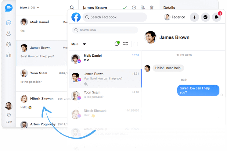 Messenger chat