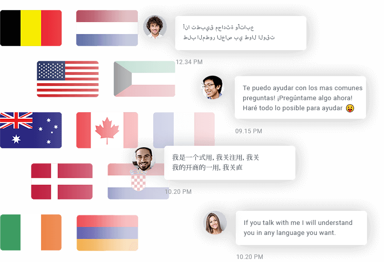 Multilingual chat